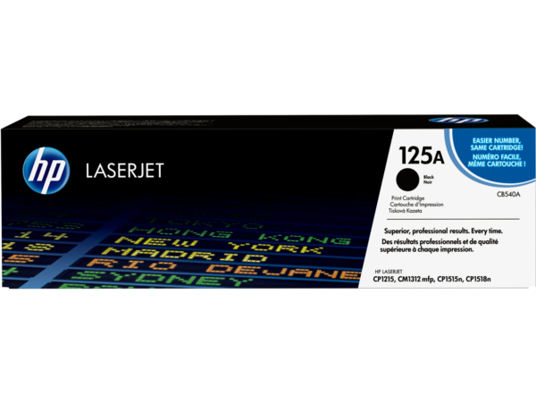 EMEA version - HP LaserJet 125A Black Print Cartridge