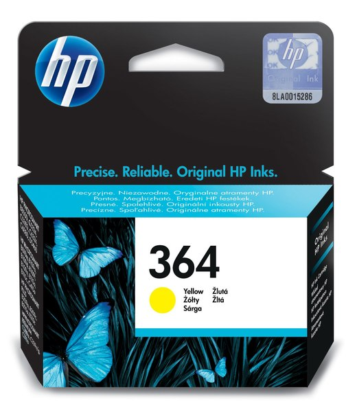 HP 364 Yellow Photosmart Ink Cartridge