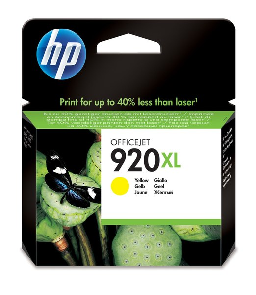 HP 920XL Yellow Officejet Ink Cartridge