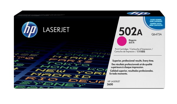 HP Color LaserJet Q6473A Magenta Print Cartridge