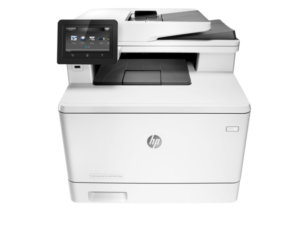 HP Color LaserJet Pro MFP M377dw, Center, Front, no output