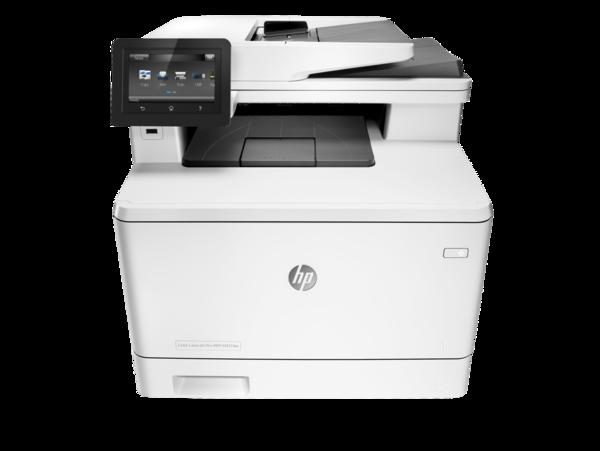 HP Color LaserJet Pro MFP M377dw, Center, Front, no output