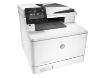 HP Color LaserJet Pro MFP M377dw, Right facing, no output
