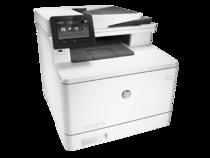 HP Color LaserJet Pro MFP M377dw, Right facing, no output