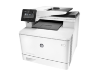 HP Color LaserJet Pro MFP M377dw, Left facing, no output