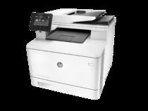 HP Color LaserJet Pro MFP M377dw, Left facing, no output