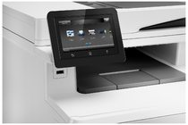 HP Color LaserJet Pro MFP M377dw, Detailed view of LCD Screen