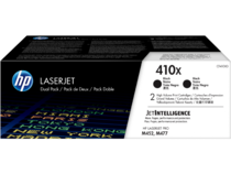 HP LaserJet Dual Pack Print Cartridge - 410X