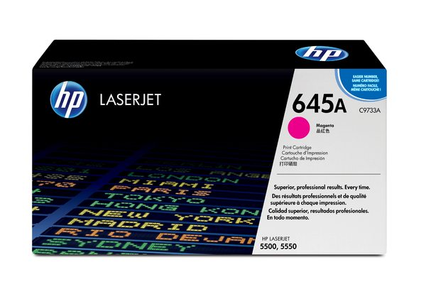 HP 645A Magenta LaserJet Toner Cartridge