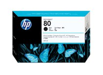 HP 80 350-ml Black Ink Cartridge