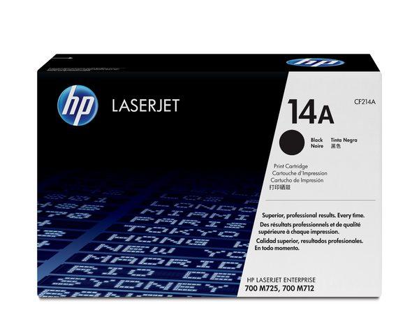 HP 14A Black LaserJet Toner Cartridge