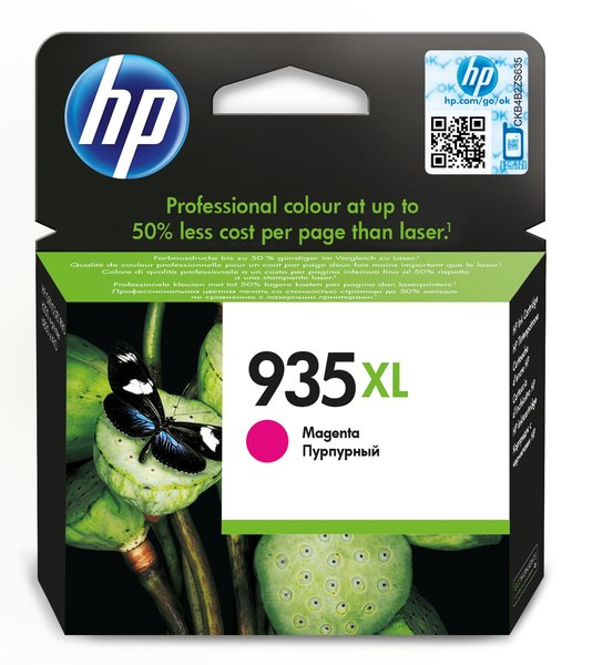 HP 935XL High Yield Magenta Original Ink Cartridge