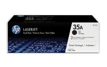HP LaserJet CB435A Dual Pack Black Print Cartridges