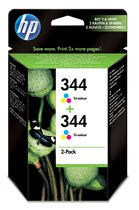HP 344 2-pack Tri-color Inkjet Print Cartridge