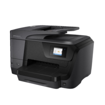 HP OfficeJet Pro 8710 All-in-One, left facing
