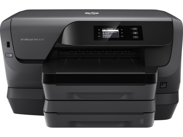 HP OfficeJet Pro 8216, Center, Front, no output