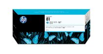 HP 81 Light Cyan Dye Ink Cartridge-C4934A