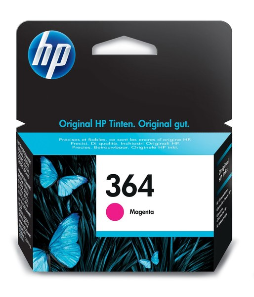 HP 364 Magenta Photosmart Ink Cartridge