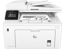 HP LaserJet Pro MFP M227fdw, Center, Front, with output