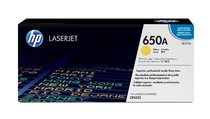 HP 650A Yellow LaserJet Print Cartridge