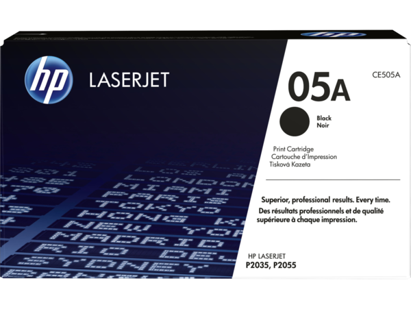 EMEA version - HP LaserJet 05A Black Print Cartridge