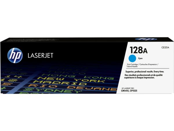 HP LaserJet 128A Cyan Print Cartridge