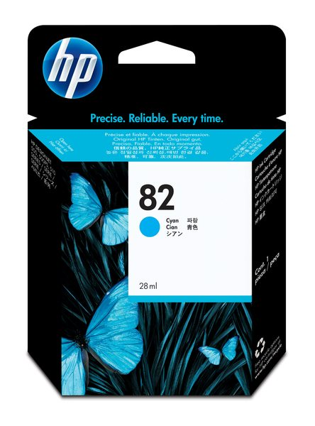 HP 82 Ink Cartridge/Cyan