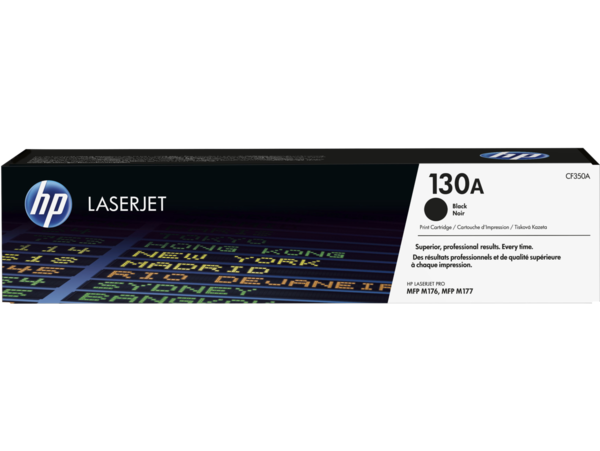 EMEA version - HP LaserJet 130A Black Print Cartridge
