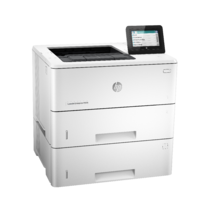 HP LaserJet Enterprise M506, Right facing, no output