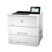 HP LaserJet Enterprise M506, Left facing, no output