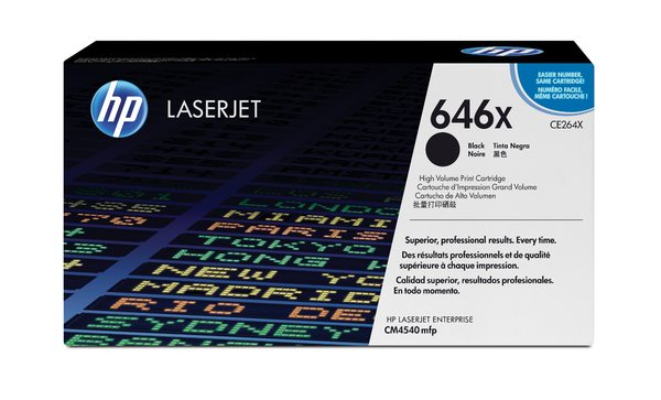HP 646X Black LaserJet Print Cartridge