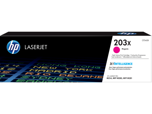 HP LaserJet Print Cartridge 203X, Magenta
