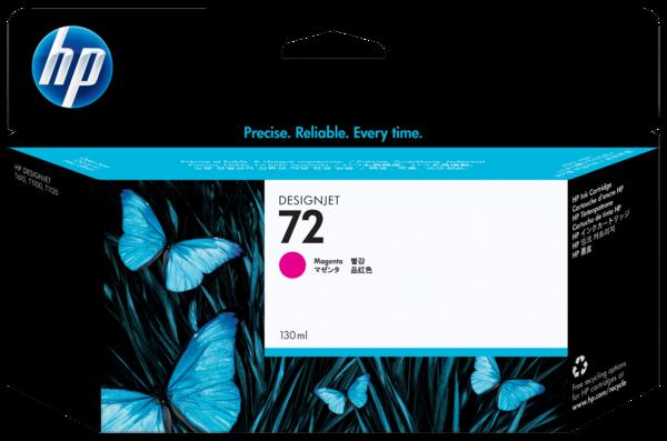 HP 72 130-ml Magenta Ink Cartridge