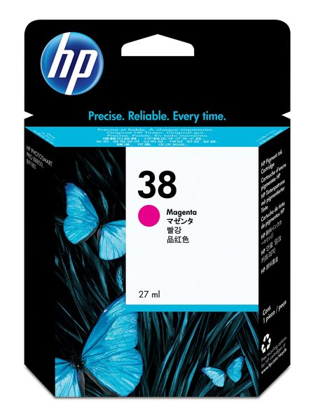 Hp 38 Ink Cartridge Magenta