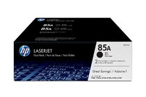 HP 85A Black Dual Pack LaserJet Toner Cartridges
