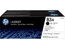 HP 83A 2-pack Black Original LaserJet Toner Cartridges