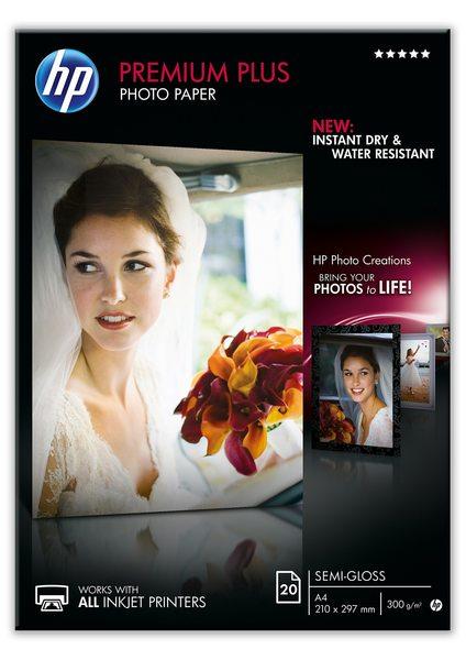 HP Premium Plus Semi-gloss Photo Paper