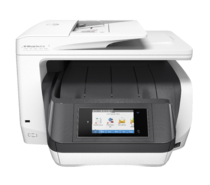 HP OfficeJet Pro 8730 All-in-One (White), Center, Front, no output