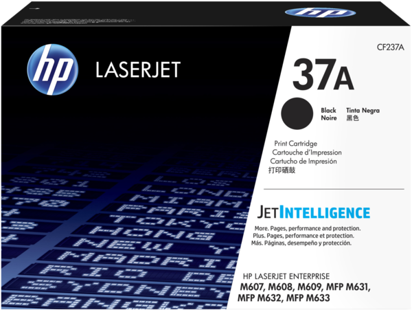 HP LaserJet 37A Black Print Cartridge