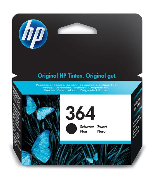 HP 364 Black Photosmart Ink Cartridge