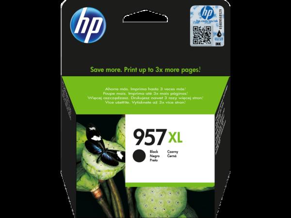 HP 957XL High Yield Black Original Ink Cartridge