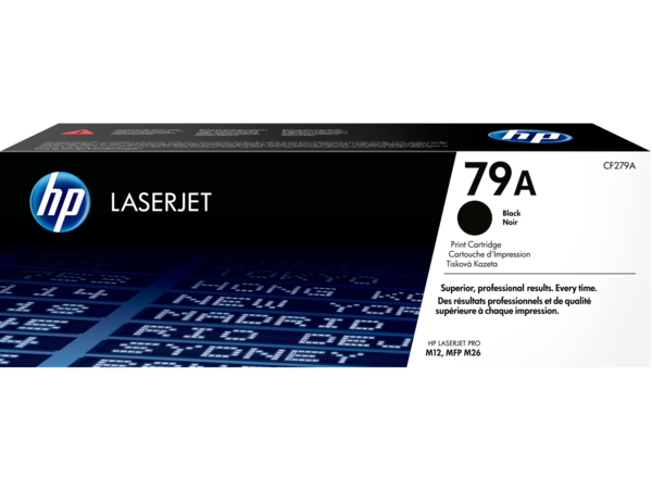 HP LaserJet 79A Black Print Cartridge - EMEA use only