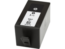HP 907XL Black Original Ink Cartridge, Left Facing