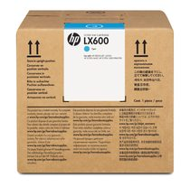 HP LX600 3-liter Cyan Latex Scitex Ink Cartridge