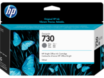 HP 730 130-ml DesignJet Gray Ink Cartridge, WW