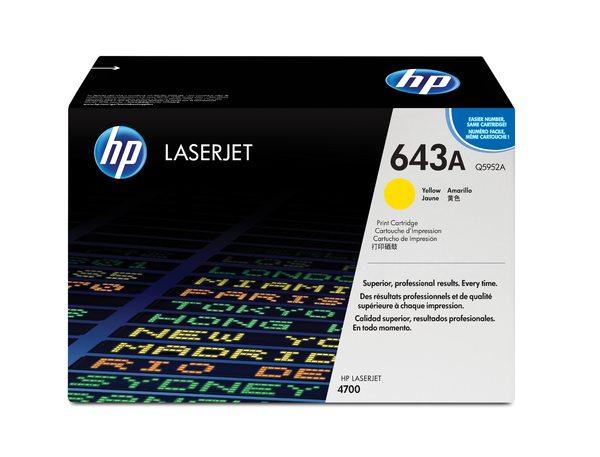 HP Color LaserJet Q5952A Yellow Print Cartridge