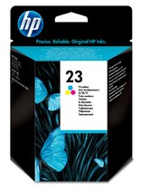 HP 23 Tri-color Inkjet Print Cartridge