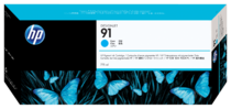 HP 91 775-ml Pigment Cyan Ink Cartridge