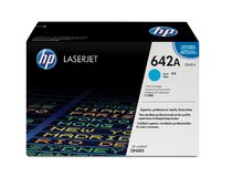 HP 642A Cyan Government LaserJet Toner Cartridge