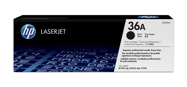 HP LaserJet CB436A Black Print Cartridge
